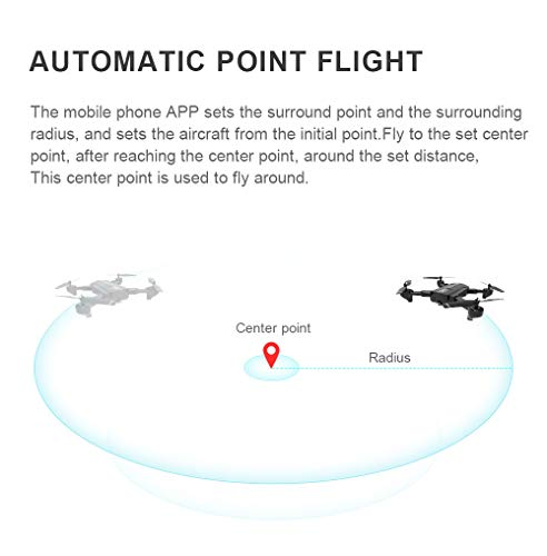 Lovewe SG900 RC Foldable Quadcopter 2.4GHz WIFI FPV GPS Fixed Point Drone for Kids and Beginners With 720P/1080P HD Camera, One Key Return (1080P) by Lovewe_Drone (Image #6)