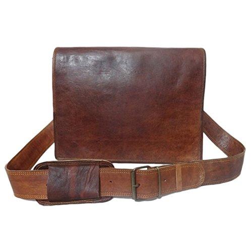 Business Leather Laptop Shoulder Goat Bag Messenger Genuine Office Men's Briefcase Vintage Satchel xXUwZt0F7q