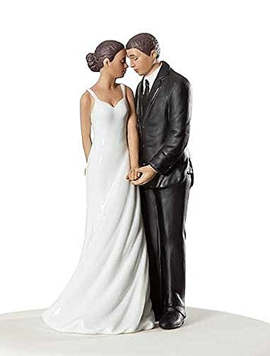 Wedding Collectibles Wedding Bliss African American Wedding Cake Topper