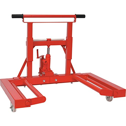 "Blackhawk BH8075 Blackhawk 3/4 Tons Wheel Dolly, 30"" Heig..."