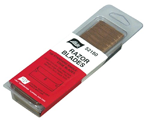 Lisle 52150 Razor Blade - Pack of 100