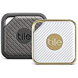 Tile Combo Pack - Key Finder. Phone Finder. Anything Finder (1 Tile Sport and 1 Tile Style) - 2 Pack