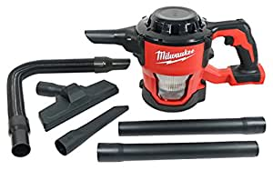 milwaukee 0882 20 m18 lithium ion cordless compact 40 cfm hand held vacuum w hose attachments. Black Bedroom Furniture Sets. Home Design Ideas