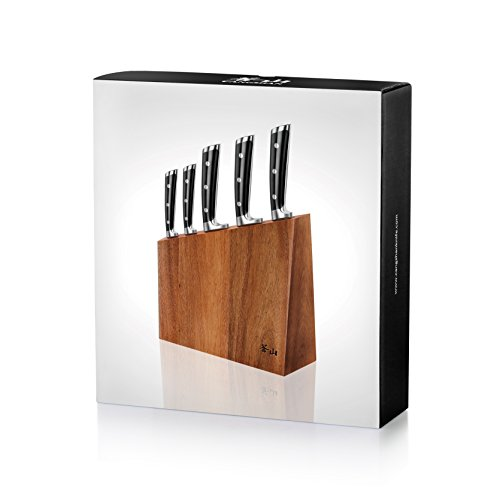 Cangshan S Series 59656 6-Piece German Steel Forged Knife Block Set by Cangshan (Image #7)