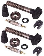 BESPORTBLE 2 peças de substituição para válvula Presta Core bicicleta sem câmara de ar adaptador de válvula para bicicleta Road MTB