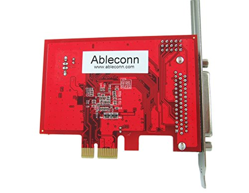 Ableconn PEX4S-954 4 Port RS232 PCI Express Serial Adapter Card with Power Output and 16950 UART (OXPCIe954 Chipset) - Optional 5V Power Output on Pin9 of DB9 by Ableconn (Image #3)