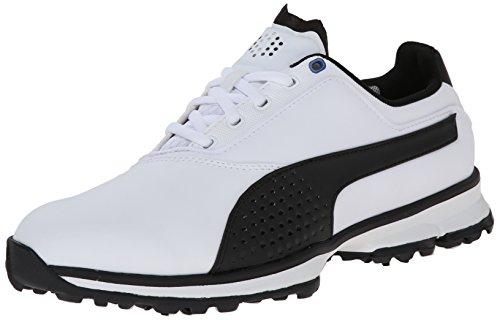 PUMA Mens Titanlite Golf Shoe White/Black