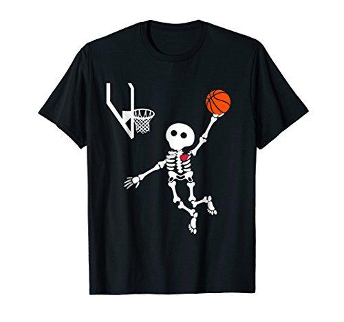 basketball skeleton halloween ()