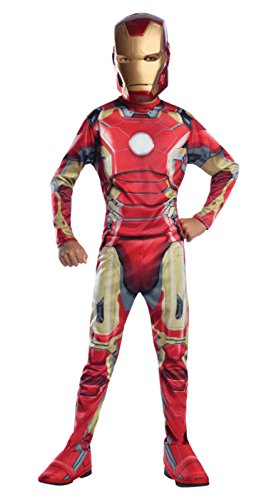 Rubie's Costume Avengers 2 Age of Ultron Child's Iron Man Mark 43 Costume, Medium (Tony Stark Halloween Costume)