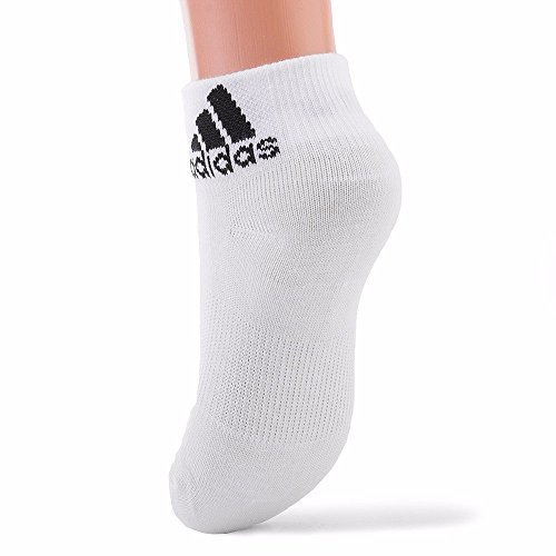 Per Unisex Blanco Negro Adidas Ankle Calcetines 3pp T RXn8pdq