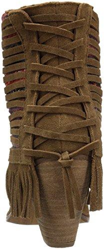 Naughty Tan Monkey Talyhoe Ankle Bootie Women's qTqzw