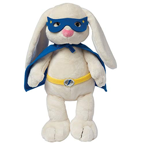 Manhattan Toy Superhero Bunny Stuffed Animal Toy]()