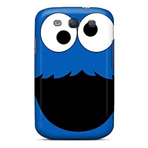 Cute Tpu Elaney Cookie Monster Case Cover For Galaxy S3