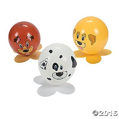 Fun Express Puppy Dog Balloon Craft Kit Party Activity - Makes 12]()
