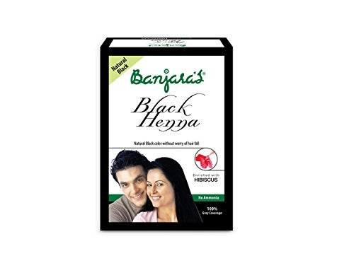 Banjara's Black Henna with Hibiscus 50g( Pack of 4) product image