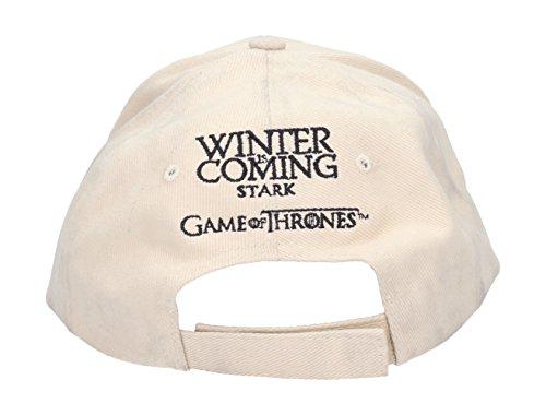 Stark Beige SD Unisex Thrones Adulto Game U of de Béisbol Gorra Toys vrT5qwv