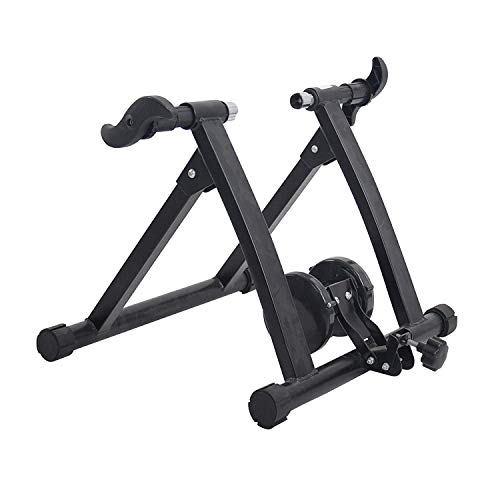Livebest Magnetic Bicycle Stationary Stand,Indoor Bike Trainer Exercise Machine with 26