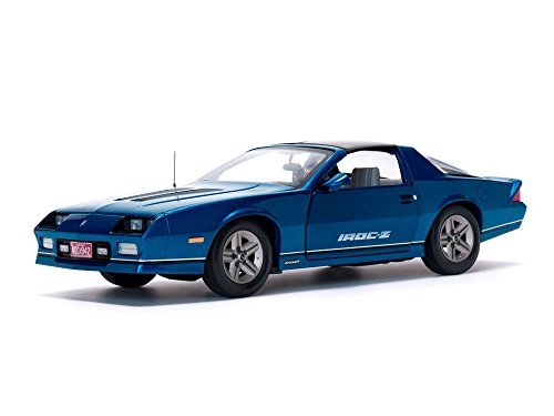 1985 Chevrolet Camaro IROC-Z Bright Blue 1/18 Diecast, used for sale  Delivered anywhere in USA