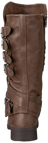 Boot Huck Women's Motorcycle Taupe Report qAz6wxt8