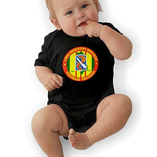 198th Light Infantry Brigade Vietnam Veteran Unisex Baby Short Sleeve - 198th Light