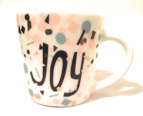 - Starbucks 2017 Ceramic JOY Holiday Demi Espresso Cup - 3 Oz