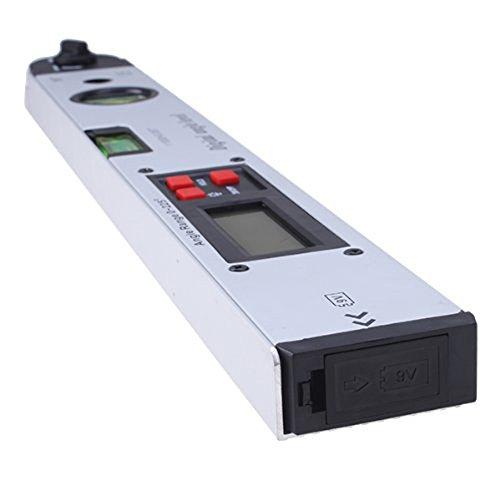 400mm LCD Digital Medidor descubridor de angulos Transportador Nivel Dual SODIAL Medidor de angulos R