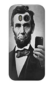 S0041 Abraham Lincoln Case Cover for HTC ONE M8