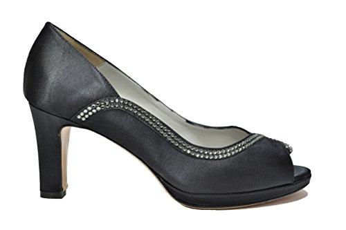 Melluso Decolte A Sauté Noir Élégante Femme Chaussures E1459r