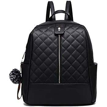 Amazon.com: Faux Leather Backpack Purse for Women, XB