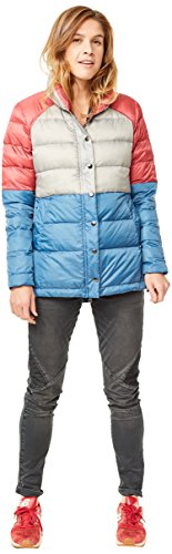 (CARVE Designs Women's Alta Puffer Jacket, Harbor/Glacier/Boysenberry,)
