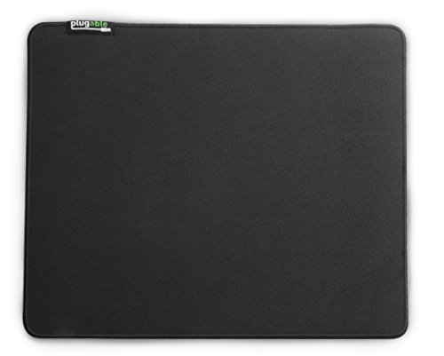 Mad Catz Mat - Plugable Performance Mouse Pad with Polyester Micro-Weave Hybrid Surface (Black)