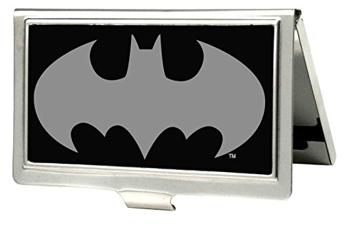 Buckle-Down Metal Wallet - Batman Reverse Brushed Accessory at Gotham City Store