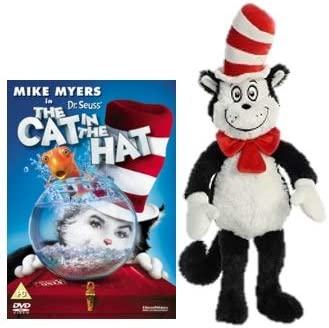Dr. Seuss The Cat in the Hat Soft Toy and DVD.: Amazon.co.uk
