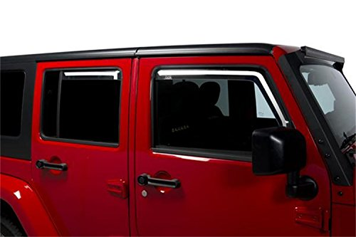 Door Window Channel Kit (Putco 580229 Element Tinted Window Visor)