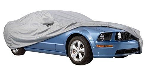 Cover+ Funda Exterior Premium para Audi A7 SPORTBACK Impermeable Transpirable para Evitar la condensaci/ón en el Parabrisas. Doble Capa sint/ética y de Finas trazas de algod/ón por el Interior