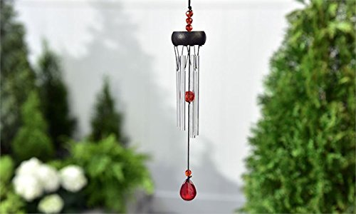 Gift Craft Musical Birthstone Windchime - January