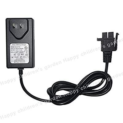 24 Volt Charger B for Kid Ride On Car 24V Battery Charger for Grave Digger Monster Truck & Yamaha 24V Grizzly Riding Toy Powered