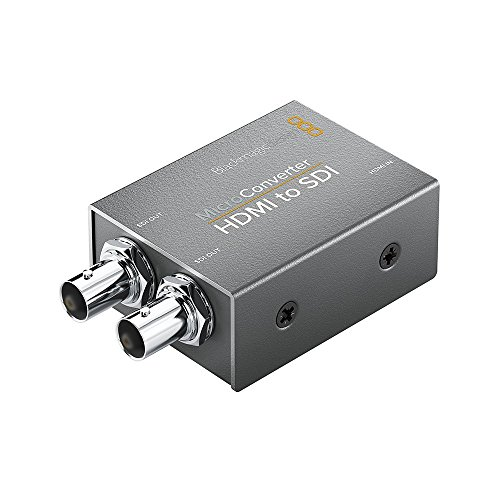 Blackmagic Design Micro Converter HDMI to SDI (with Power Supply) BMD-CONVCMIC/HS/WPSU (Component Sdi)