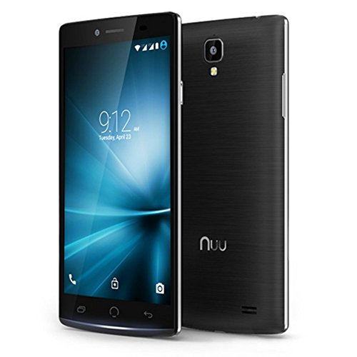 NUU Mobile Z8 5.5 FHD Octa-Core Dual LTE SIM Unlocked Android Lollipop Smartphone with 2-Year Ltd Warranty, Black
