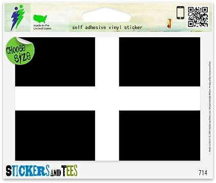 Sticker car moto map flag vinyl outside wall decal macbbook jamaica