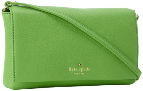 Kate Spade New York Cobble Hill Kristie PWRU3158 Cross Body,Shamrock,One Size, Bags Central