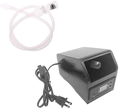 oukery Digital Vape Evaporator Aromatherapy Diffuser Vaporizer with Free Whip Accessories Kit (Black)
