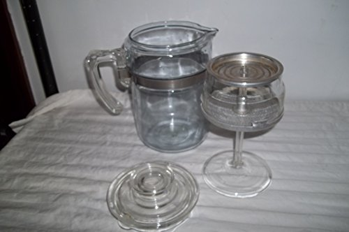 Pyrex 4 Cup Percolator with Buckle Band