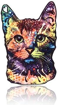 Angelliu - Broche para el Pelo acrílico, diseño de Gato con Diferentes posturas