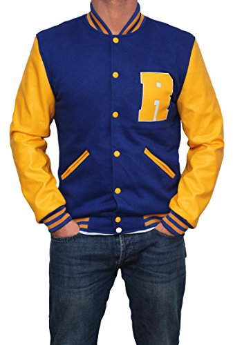 Jughead Costume (KJ Apa Costume Riverdale Archie Outwear Jacket For Mens L)