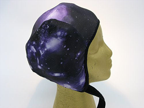 Wrestling Hair Cap - Purple Galaxy (Black Trim) (Wrestling Hair Gear compare prices)