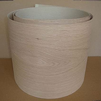 Pre Glued Iron on Oak Wood Veneer Sheets 250mm wide, you choose the Length (2000mm)