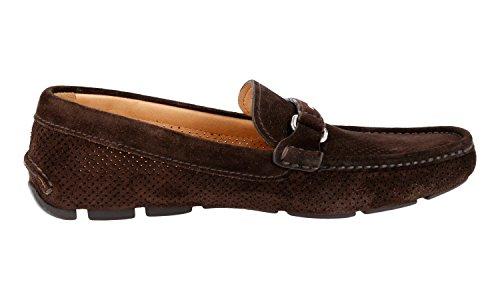 Prada Menns 2dd111 Mgp F0003 Skinn Loafers