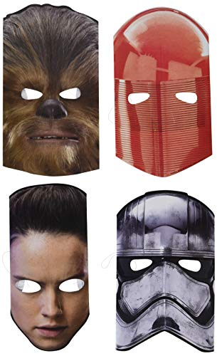 American Greetings Star Wars Episode 8 Masks, 8-Count