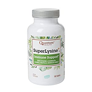Bottle containing tablets of immune support with vitamin c and 6 other herbs